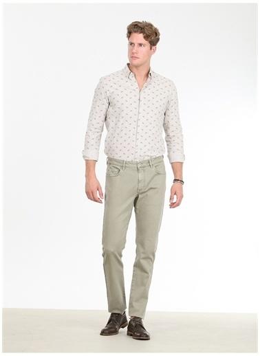 Kip Kip Regular Fit Düz Açık Haki Pantolon Haki